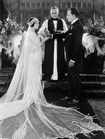 silent-film-still-wedding