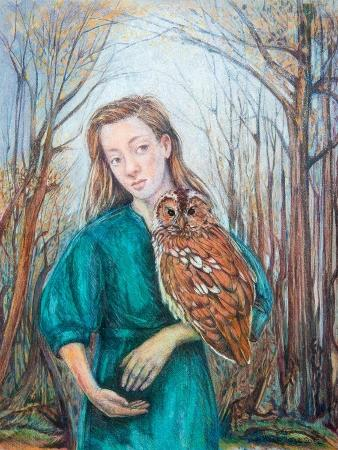 silvia-pastore-girl-with-owl-2012