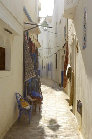 simon-montgomery-shop-in-an-alley-asilah-atlantic-coast-morocco-north-africa-africa