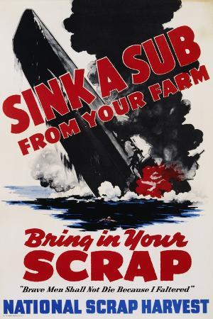 sink-a-sub-from-your-farm-bring-in-your-scrap-poster
