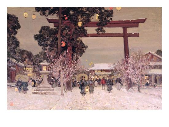 sir-alfred-east-view-of-a-shinto-shrine-c-1889