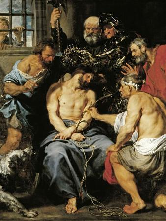 sir-anthony-van-dyck-the-crown-of-thorns-1618-1620-flemish-school