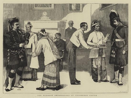 sir-james-dromgole-linton-the-burmese-ambassadors-at-edinburgh-castle