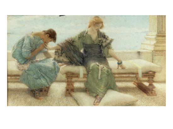 sir-lawrence-alma-tadema-youth-1908