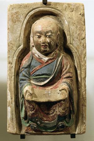 sitting-monk