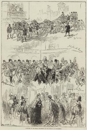 sketches-of-the-royal-procession-at-the-opening-of-parliament