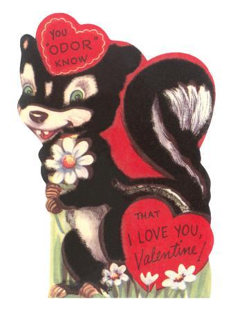 skunk-valentine-card