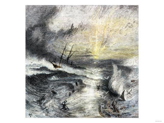 slaves-drowning-when-a-slave-ship-sinks-in-stormy-waters