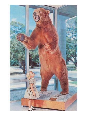 small-girl-with-large-bear-retro