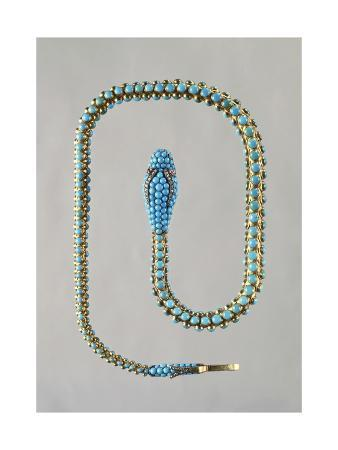 snake-shaped-gold-necklace-set-with-turquoises-rubies-and-diamonds