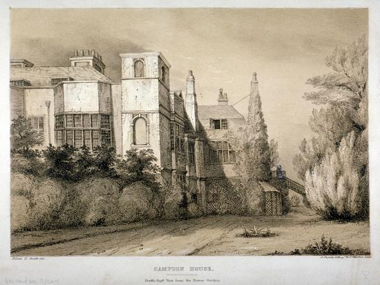 south-east-view-of-campden-house-kensington-london-c1850