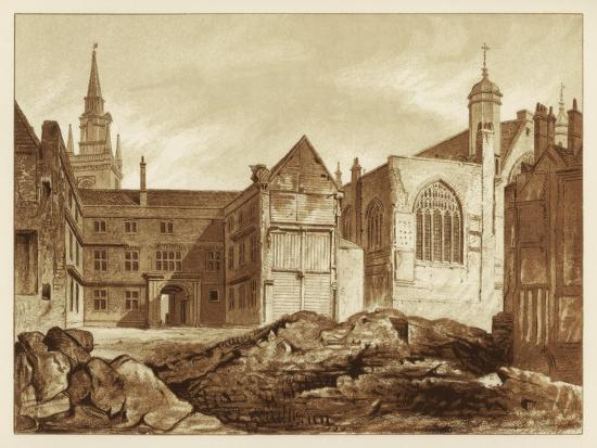 south-east-view-of-guildhall-chapel-and-blackwell-hall-city-of-london-1886