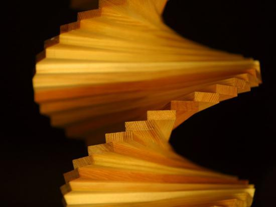 spiraled-wooden-object
