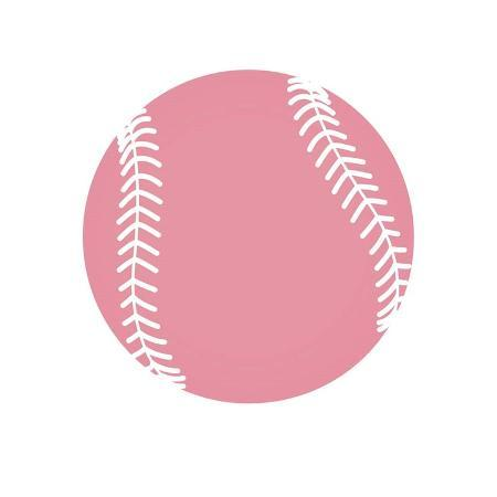 sports-mania-baby-pink-softball-on-white