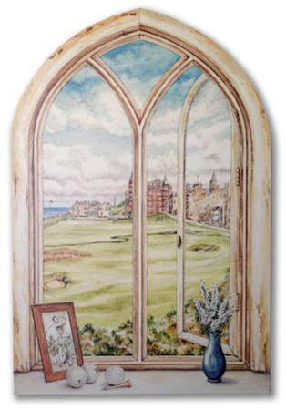 st-andrew-s-gold-course-window