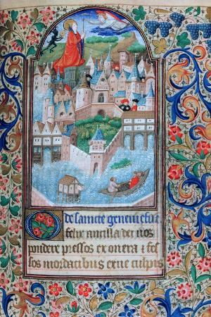 st-genevieve-praying-on-the-towers-of-notre-dame-paris-15th-century