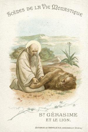 st-gerasimus-and-the-lion