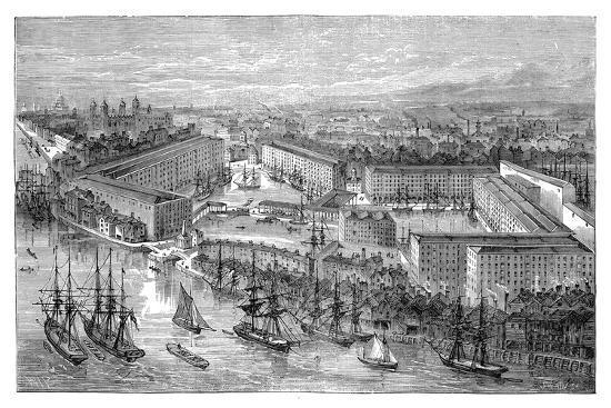 st-katherine-s-docks-london-late-19th-century