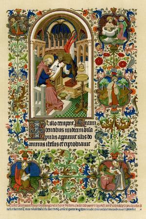 st-mark-writing-his-gospel-1414-1423