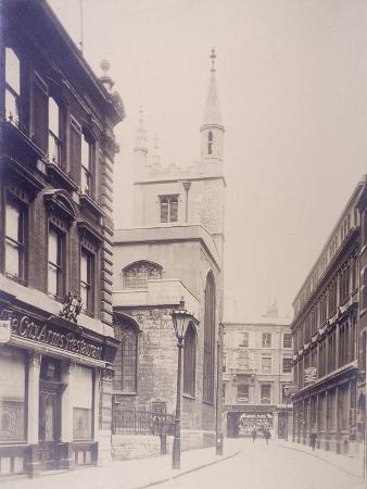 st-mary-axe-and-st-andrew-undershaft-london-1911