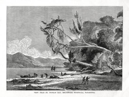 st-nicolas-bay-brunswick-peninsula-patagonia-19th-century