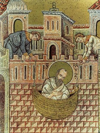 st-paul-escapes-damascus-in-a-basket-12th-13th-century