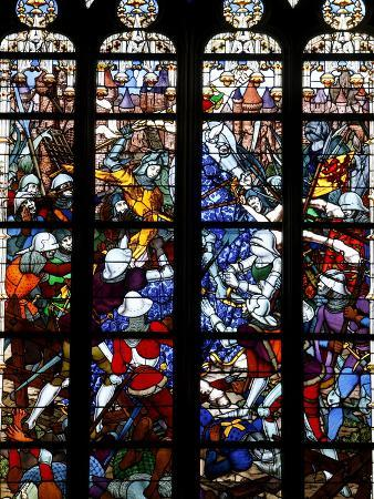 stained-glass-of-joan-of-arc-in-sainte-croix-cathedral-orleans-loiret-france-europe