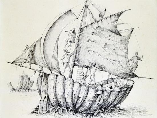 stanislas-lepine-the-ship-c1850-1890