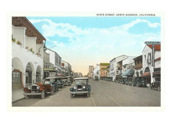 state-street-santa-barbara-california