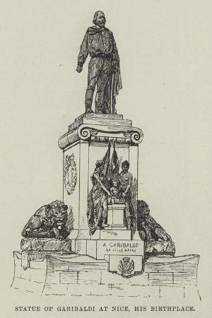 statue-of-garibaldi-at-nice-his-birthplace