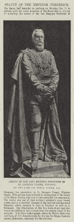 statue-of-the-late-emperor-frederick-in-st-george-s-chapel