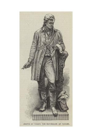 statue-of-wilson-the-naturalist-at-paisley