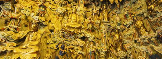 statues-in-a-temple-longhua-temple-shanghai-china