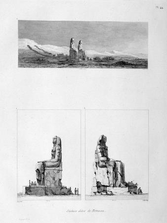 statues-of-memnon-thebes-egypt-c1808
