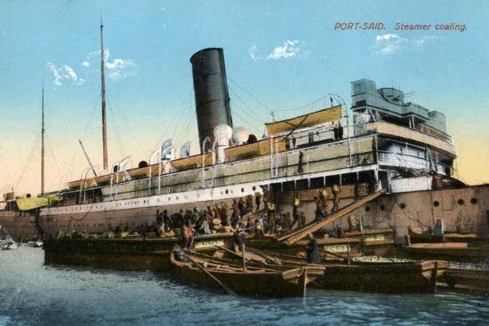 steamer-coaling-port-said-egypt-20th-century