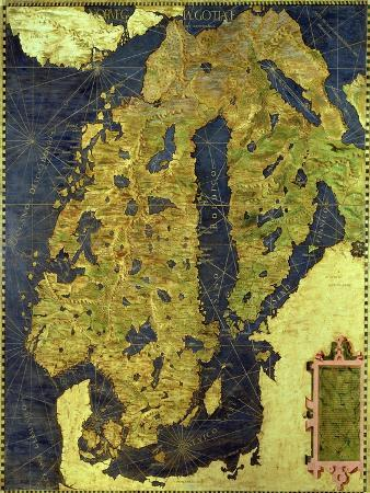 stefano-and-danti-bonsignori-map-of-sixteenth-century-scandinavia-from-the-sala-delle-carte-geografiche