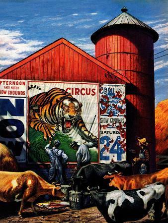 stevan-dohanos-barnside-circus-poster-august-4-1945