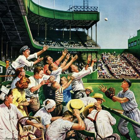 stevan-dohanos-catching-home-run-ball-april-22-1950