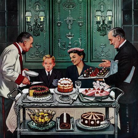 stevan-dohanos-dessert-cart-january-1-1955