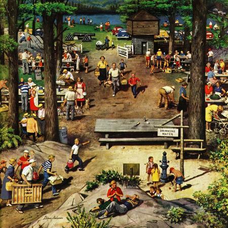 stevan-dohanos-labor-day-picnic-september-11-1954