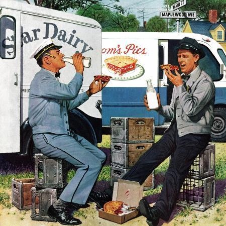 stevan-dohanos-milkman-meets-pieman-october-11-1958