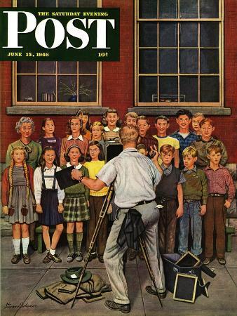 stevan-dohanos-school-pictures-saturday-evening-post-cover-june-15-1946
