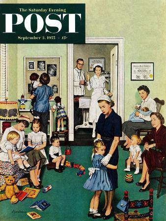 stevan-dohanos-separation-anxiety-saturday-evening-post-cover-september-3-1955