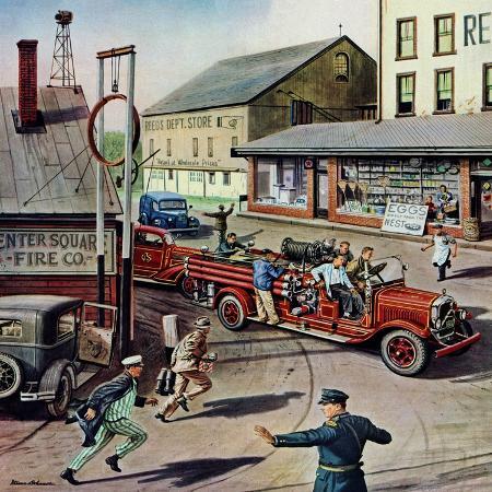 stevan-dohanos-small-town-fire-company-may-14-1949