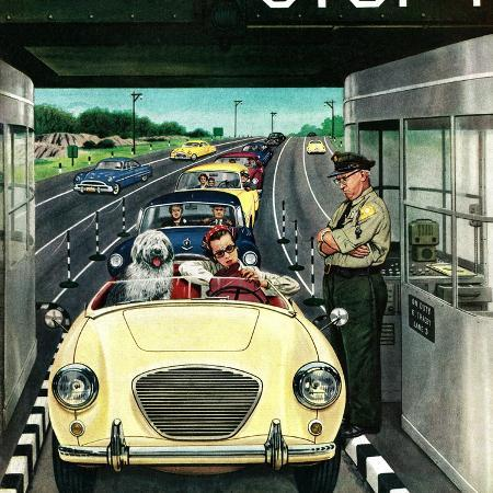 stevan-dohanos-stop-and-pay-toll-april-7-1956
