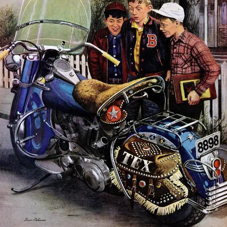 stevan-dohanos-tex-s-motorcycle-april-7-1951