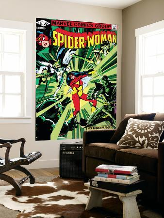 steve-leialoha-spider-woman-no-38-cover-spider-woman-colossus-juggernaut-angel-storm-and-x-men