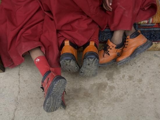 steve-winter-western-boots-on-three-young-monks-at-the-karsha-gustor-festival