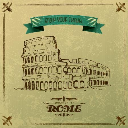 stockshoppe-roman-colosseum-for-retro-travel-poster