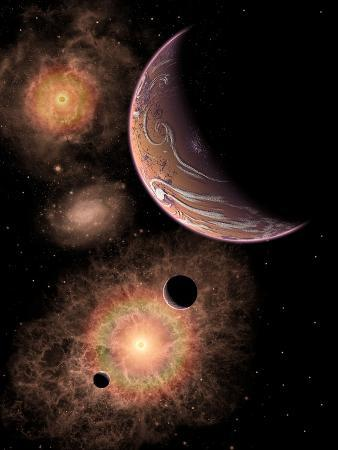 stocktrek-images-a-distant-alien-solar-system-in-our-milky-way-galaxy